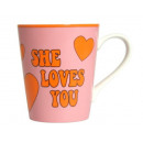 Coffee Mug - She loves you (Beatles)