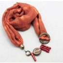 wholesale Fashion & Mode:SCARF NECKLACE
