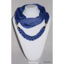 wholesale Scarves & Shawls:BLUE SCARF NECKLACE
