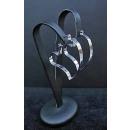 grossiste Bijoux & Montres: COEUR Boucles  d'oreilles Argent 925