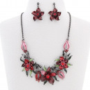 FLOWERY JEWELLERY SET