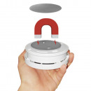wholesale Fire Prevention: 8 cm magnetic holder for smoke detector and fire a