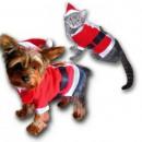 juego de la Navidad para el gato o perro pequeño