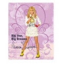 Großhandel Bettwäsche & Decken: Plaid Polar Hannah Montana
