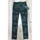 Großhandel Jeanswear: Camouflage -  Skinny-Hose für Damen * Slim-Fit