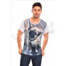 Camiseta de manga corta de los hombres
