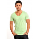 V-Neck T-Shirt by Wasabi