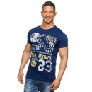 Hombres camiseta de Spartans Historia