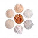 Kristallsalz, orange, 25 kg, ca. <0,5mm