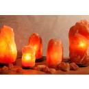 Beleuchteter Salzkristall ROCK ca. 18-22 kg