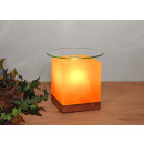 wholesale Fragrance Lamps: Salt crystal aroma lamp KUBUS