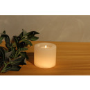 wholesale Cleaning: Salt Crystal Tealight Holder CYLINDER White Line