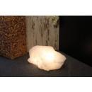 Beleuchteter Salzkristall White Line, ca. 25-30 kg