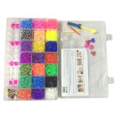XL COLORFUL DIY LOOM BANDS Sets
