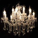 Chandelier silver with 6 Lights LM5064-6-S
