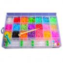 DIY gekleurde elastiekjes 4500 stuks