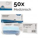 Medizinischer Mundschutz Mundmaske 50er, Typ II R