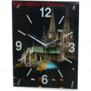 wholesale Brand Watches: Glass clock wall clock Cologne cathedral at night