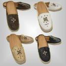 trendige Damen  Sommer Schuhe mit Perlen