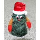 Papá Noel en el árbol de Navidad