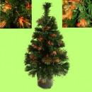Gloeiende Kerst boom in een geschenkdoos, 60cm