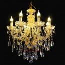 wholesale Lampes: Chandelier gold, 8 lights