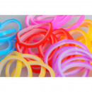 ingrosso Accessori e ricambi: colorato elastici bicolore
