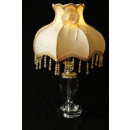 wholesale Lampes: Table lamp made of crystal glass with textile scre