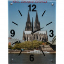 wholesale Brand Watches: Glass clock wall clock Cologne cathedral at day