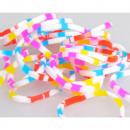 Großhandel Zubehör & Ersatzteile: farbige Bänder  Schneeflocke  bunt