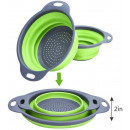 SILICONE DUCK SIEVE CUTTON FOLDING 2 pcs
