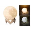 ILLUMINAZIONE NOTTURNA MOON MOON LIGHT 3D LIGHT