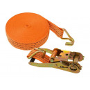 10m / 50mm transport belt with shoulder belts