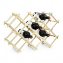 wholesale Food & Beverage: Wine rack for alcohol bottles WOOD
