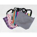 Women's zipper  bag 53x47x12cm - 5 patterns