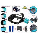 Projecteur LED ZOOM CREE XM-L T6 Headlamp
