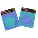 Kpl. 2 microfiber cloths 50x60 + 32x32cm