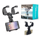 Car phone holder rearview mirror
