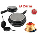 wholesale Pots & Pans: Frying bilateral  INDUCTION 24 cm to omelettes