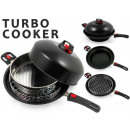 Quick set the Turbo Cooker for Frying