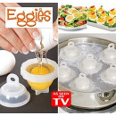 EGGIES CONTAINER FOR COOKING EGGS