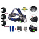 HEADLIGHT LED ZOOM CREE XM-L T6 HEADER