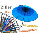 ELEGANT umbrella with curved HANDLE