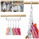 wholesale Small Furniture: CABINET ORGANIZER FOR CLOTHES HANGERS 8 PCS