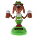 grossiste Figurines & Sclulptures: SOLAR Figurka  solaire flip Powered Flap Dog