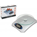 GLASS ELECTRONIC  KITCHEN SCALE 5kg / 1g