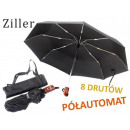 UMBRELLA ZILLER semi-automatic 8 WIRE POKROWIEC