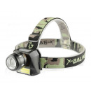 HEADLIGHT LED ZOOM head lamp 2 LED T6 / CREE