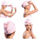 towel ON HEAD mixcrofibre HAIR TURBAN