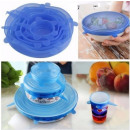 wholesale Lunchboxes & Water Bottles: Reusable silicone lids for food 6 pcs